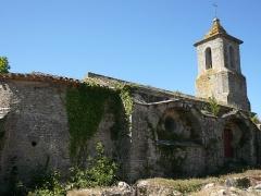 Vestiges de la chapelle Notre-Dame-de-la-Lauze - Français:   Eglise Saint-Pierre-es-Liens à Villarlong (et non Notre-Dame-de-la-Lauze) à Villarzel-Cabardès (Aude)