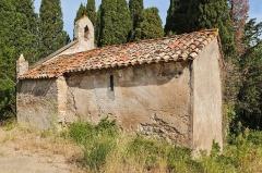 Chapelle de Gléon - English: Chapel of Gléon (Villesèque-des-Corbières, France).