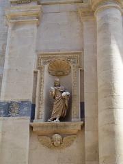 Eglise paroissiale Saint-Pancrace - Français:   église paroissiale d\'Aramon (Gard)