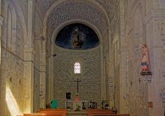 Eglise Saint-Adrien -  Nave of the church Saint Adrien.