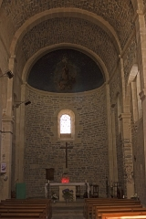 Eglise Saint-Adrien -   Apse of the church Saint Adrien