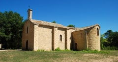 Ermitage Notre-Dame-du-Saint-Sépulcre - Français:   France - Gard - Cavillargues - Ermitage Notre-Dame-du-Saint-Sépulcre