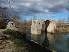Via Domitia : Pont d'Ambrussum -  Pont Ambroix
