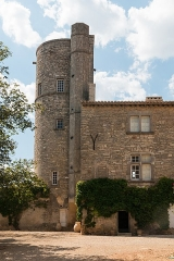 Château -  The round tower which dominates the surrounding landscape.