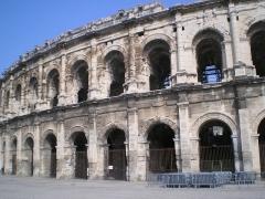 Amphithéatre ou Arènes - Arènes, Nîmes, France.