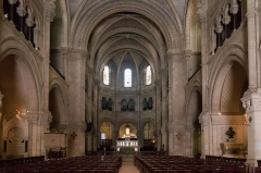 Cathédrale Notre-Dame et Saint-Castor -   {Nave of the Cathédrale Notre-Dame et Saint Castor of Nîmes
