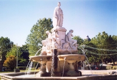 Fontaine de l'Esplanade, dite fontaine Pradier -