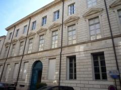 Ancien hôtel Rivet, ancienne préfecture, actuelle école des Beaux-Arts -  École des Beaux-Arts, 10 Grande Rue, Nîmes, Gard, France