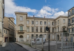 Ancien hôtel Rivet, ancienne préfecture, actuelle école des Beaux-Arts - English: Hôtel Rivet in Nîmes, Gard, France