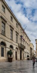 Hôtel de ville - English: City hall in Nîmes, Gard, France