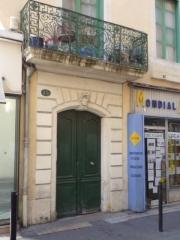 Immeuble -  Immeuble historique, 13 Rue des Lombards, Nîmes, Gard, France