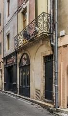 Maison - English: Building at 23 rue de l'Etoile in Nîmes, Gard, France