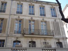 Maison - English: Historical house, 28 Bd Gambetta, Nîmes, Gard, France