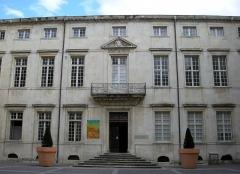 Ancien palais épiscopal - English: Musée du Vieux Nîmes (Gard)