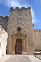 Eglise Saint-Laurent - Français:   façade de l\'église Saint-Laurent de Saint-Laurent des Arbres
