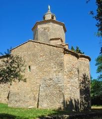 Chapelle Notre-Dame-de-Mayran - Français:   France - Gard - Saint-Victor-la-Coste - Chapelle Notre-Dame de Mayran