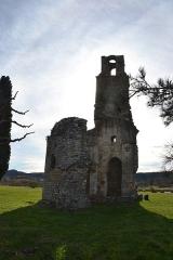 Ruines de la chapelle Saint-Martin - Français:   Vestiges de la Chapelle Saint-Martin