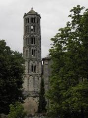 Ancienne cathédrale Saint-Théodorit -  Tour Fenestrelle de la cathédrale Saint-Théodorit d'Uzès (30).