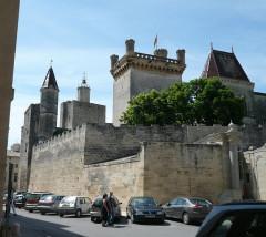 Château dit Le Duché - English: Uzès castle, France