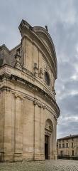 Eglise Saint-Etienne - English: Exterior of the Saint Stephen church in Uzès, Gard, France