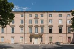 Ancien évêché -  Courtyard of the Episcopal Palace.