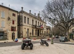 Hôtel de ville - English:   City hall of Uzès, Gard, France
