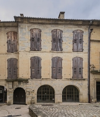 Maison - English: Building at 21 rue du Dr Blanchard in Uzès, Gard, France