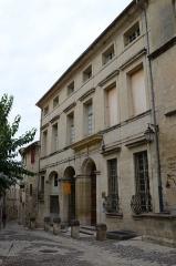 Hôtel -  Uzès (Gard, France), 2 rue de Port-Royal, hôtel particulier de Rosier, de style Louis XIV.