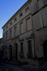 Hôtel - English:   Hotel de Rosier.