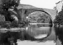 Vieux pont - Français:   Vieux pont du Vigan en 1971