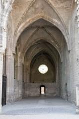 Ancienne chartreuse du Val-de-Bénédiction -  The nave, now empty.