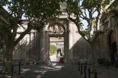 Ancienne chartreuse du Val-de-Bénédiction -  The  Women's courtyard