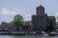 Ancienne cathédrale Saint-Etienne - Cathédrale Saint-Étienne d'Agde. Agde, Hérault, France.
