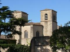 Eglise paroissiale Saint-Sauveur, ancienne abbatiale - English: Saint-Sauveur's church of Aniane (Hérault, Languedoc-Roussillon, France).