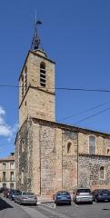 Eglise paroissiale Saint-Pierre - English: Saint Lawrence church in Bessan, Hérault, France