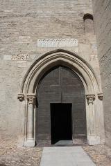 Ancienne abbaye Saint-Aphrodise - Français:   Porte d\'entrée de la Basilique Saint-Aphrodise de Béziers