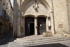 Chapelle des Pénitents Bleus - Français:   Chapelle des Pénitents bleus à Béziers