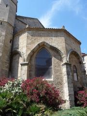 Eglise de la Madeleine - Català: Absis de l'església de la Magdalena (Besiers)