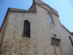 Eglise de la Madeleine - Català: Part frontal de l'església de la Magdalena (Besiers)