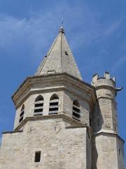 Eglise de la Madeleine - Català: Campanar i torre de l'església de la Magdalena (Besiers)