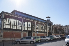 Halles centrales - Français:   Construction: 1895 Lieu: France, Languedoc-Roussillon, Béziers, Place Sémard