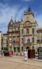 Hôtel de ville - English: City hall of Béziers, Hérault, France