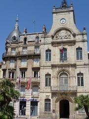 Hôtel de ville - Català: Ajuntament de Besiers.
