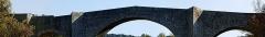 Pont de Saint-Etienne d'Issensac - Français:   Pont de Saint-Étienne d\'Issensac vue coté aval