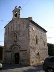 Eglise Saint-Nazaire et Saint-Celse - English: In Hérault, France, the church of Buzignargues.