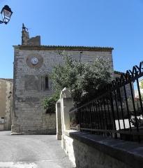 Eglise Saint-Nazaire et Saint-Celse - Français:   Église Saint-Nazaire et Saint-Celse de Buzignargues. Flanc sud.