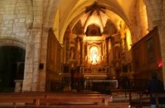 Chapelle Notre-Dame du Peyrou - Français:   Clermont-l\'Hérault (Hérault) - Chapelle de Notre-Dame du Peyrou - chœur.