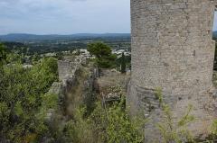Restes du château - Château des Guilhem à Clermont-l'Hérault