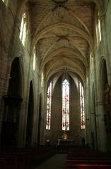Eglise Saint-Paul - Français:   Clermont-l\'Hérault (Hérault) - nef de la collégiale Saint-Paul.