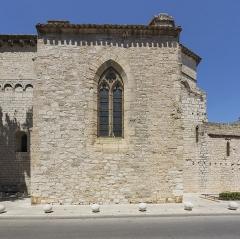 Eglise Saint-Paul - Français:   Église Saint-Paul de Frontignan. Frontignan, Hérault, France. Chapelle méridionale Sainte-Claire.